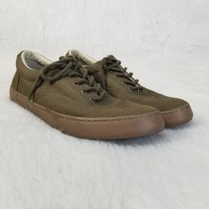 Men's Sperry Army Green Tennis Shoes